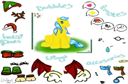Bubbles Pony Dressup