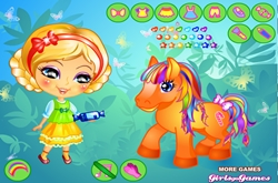 Her Little Pony Dressup