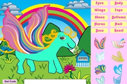 Pony dress-up game 2